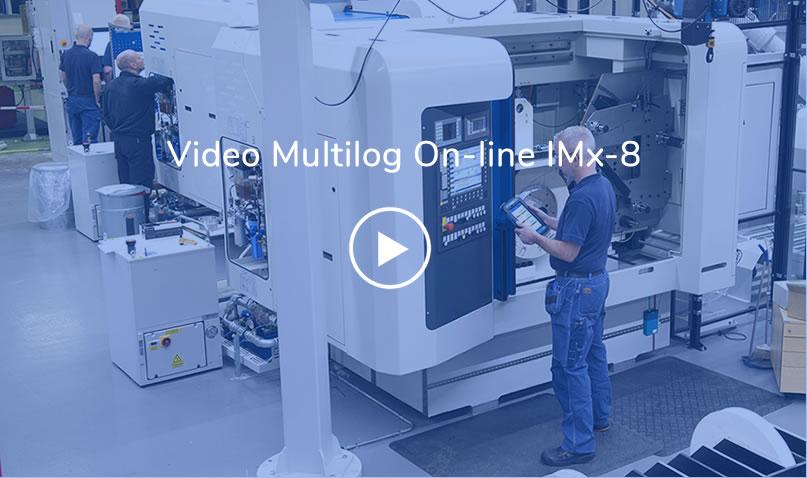 Sistema de Monitoramento Multilog On-line IMx-8