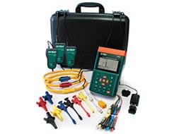 Analisadores de harmônicos e energia trifásica PQ3350 1