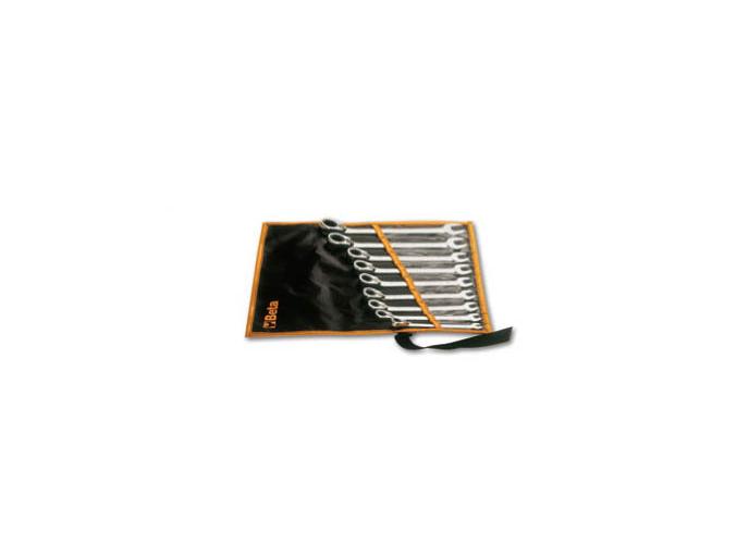 142/B6 - Jogo de chave combinada com catraca reversível em estojo 1