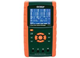 Registrador de dados/analisador de energia trifásico PQ3450 1