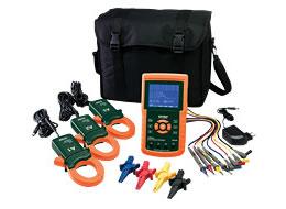 Registrador de dados/analisador de energia trifásica 382100 1