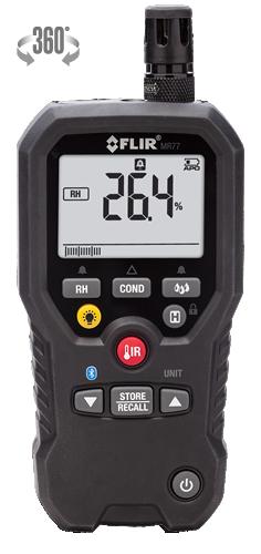 FLIR MR77 Medidor de Umidade 1