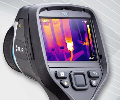 Câmera Térmica FLIR E60 com MSX®