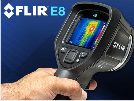 Câmera Térmica FLIR E8 com MSX®